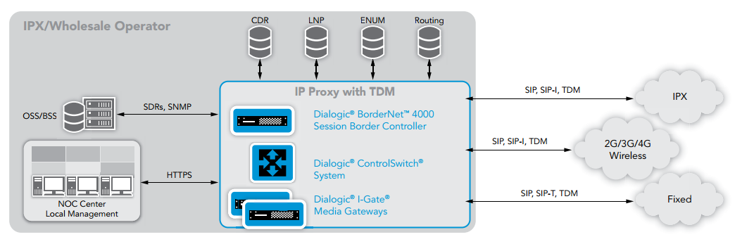 IP Packet Exchange (IPX) and Wholesale IP Services
