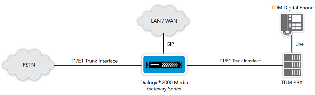 Figure 4. Access Gateway with Survivability Capabilities