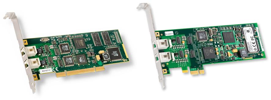 Fax//voice//data board s Dialogic 306-387 Diva UM-Analog-2 PCIe plug-in card V.90 // 2 analog port
